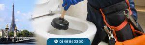 Débouchage WC à Paris au meilleur prix