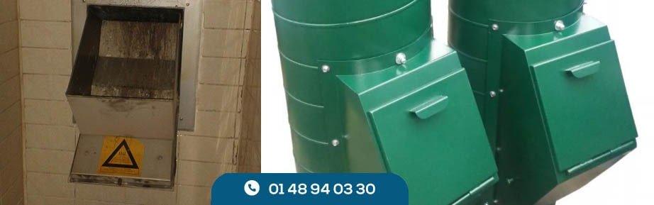 Débouchage de colonnes vide-ordure
