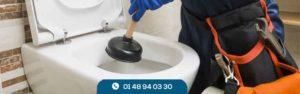 Débouchage toilette Créteil
