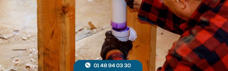 Réparer les canalisations d'évacuation
